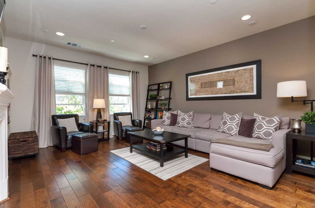 Hardwood Floors Living Room Model Beauteous Contemporary Living Room Design Ideas & Pictures  Zillow Digs . Inspiration
