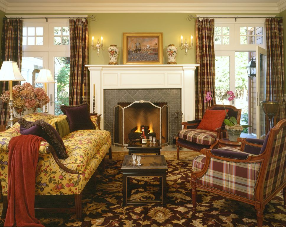 traditional living room with carpetviscusi elson