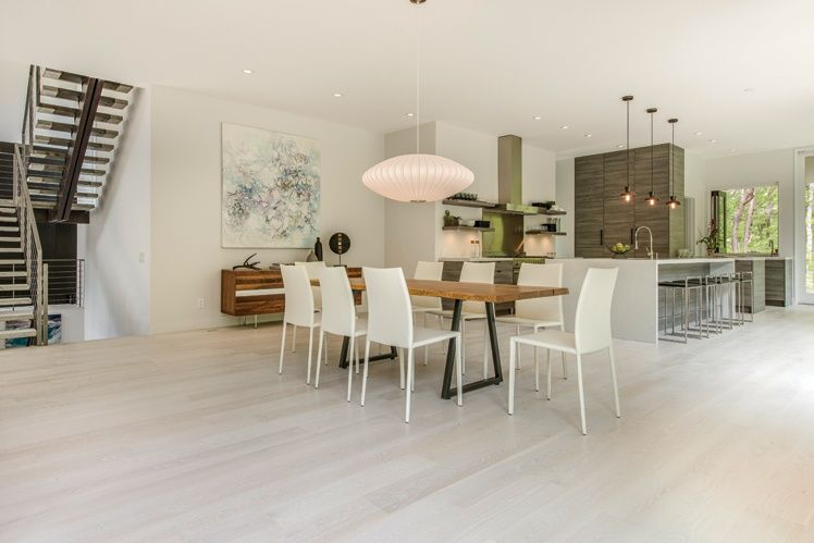 modern dining room with pendant lightstudio d | zillow digs