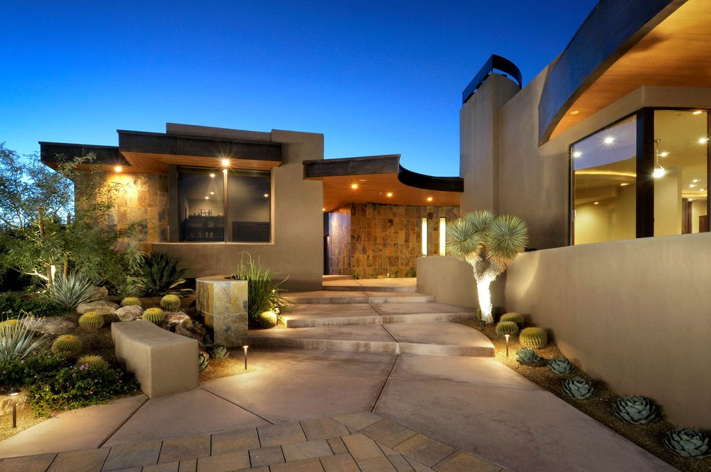 Contemporary Exterior Of Home By Soloway Designs, Inc