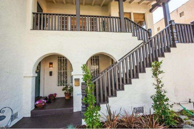 Mediterranean Staircase with Balcony by Yehuda Nourollah Zillow