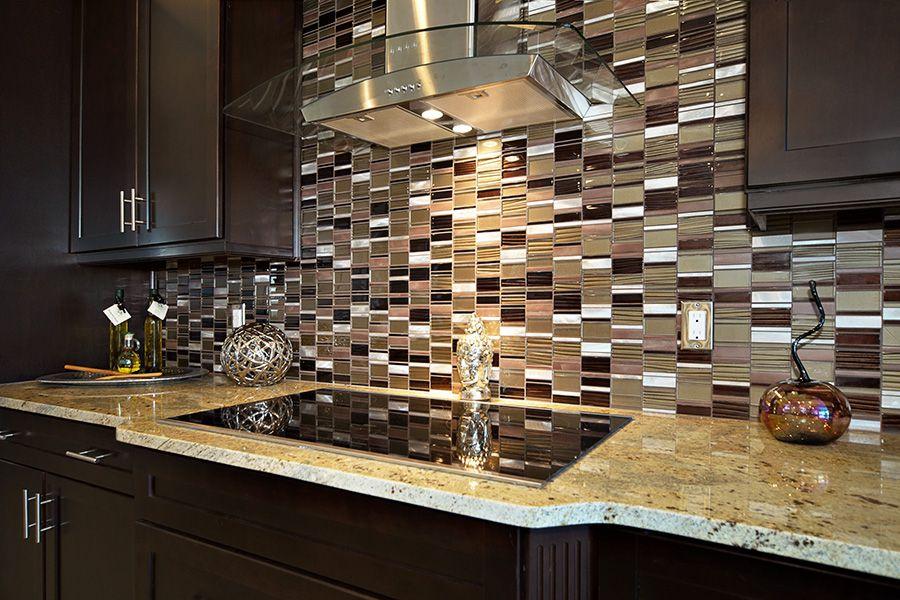 Contemporary Kitchen With High Ceiling, Arizona Tile   Sienna Beige  Granite, Ceramic Tile,