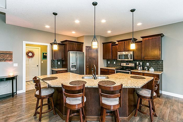 6 tags traditional kitchen with bamboo 1 light mini pendant by troy lighting handscraped oak collection malt