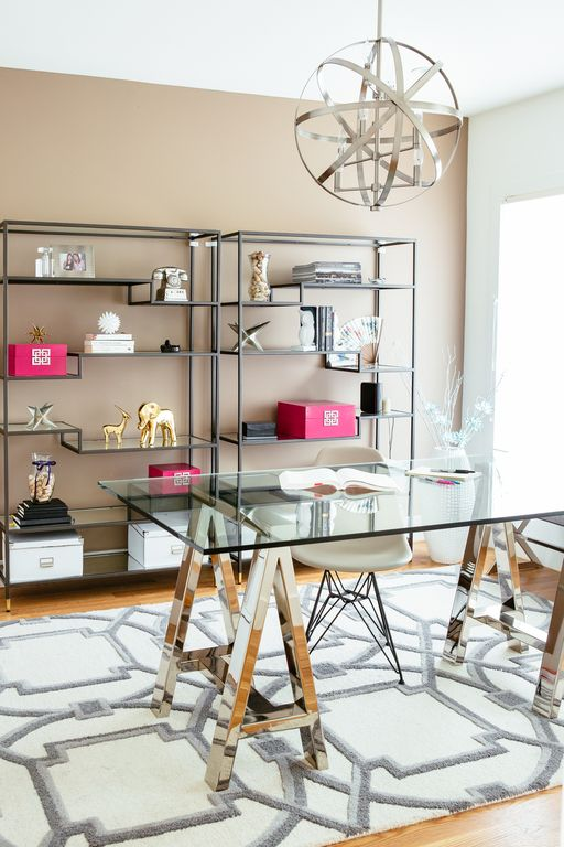 west elm home office. transitional home office with west elm cross base desk glass topnickel c