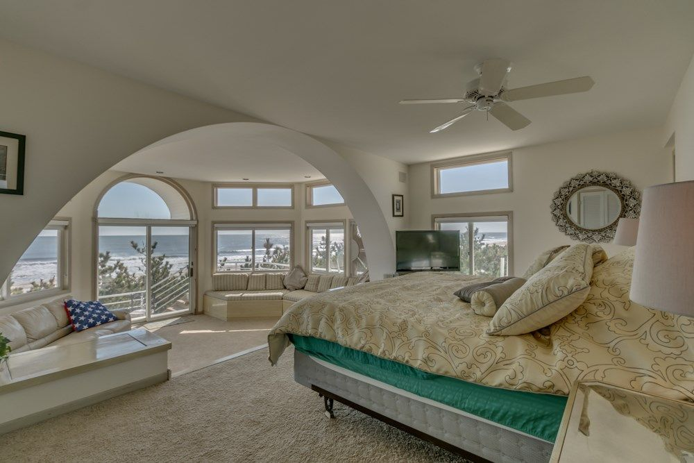 Master Bedroom Kingston traditional master bedroom with high ceiling & ceiling fan