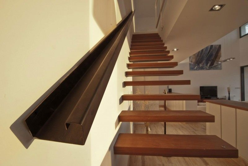 Modern Staircase with Balcony Concrete floors Zillow Digs Zillow