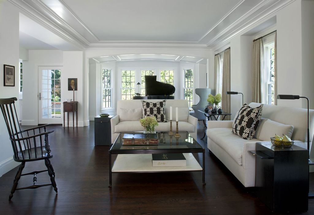 Traditional living room by cbi design professionals for Home design zillow
