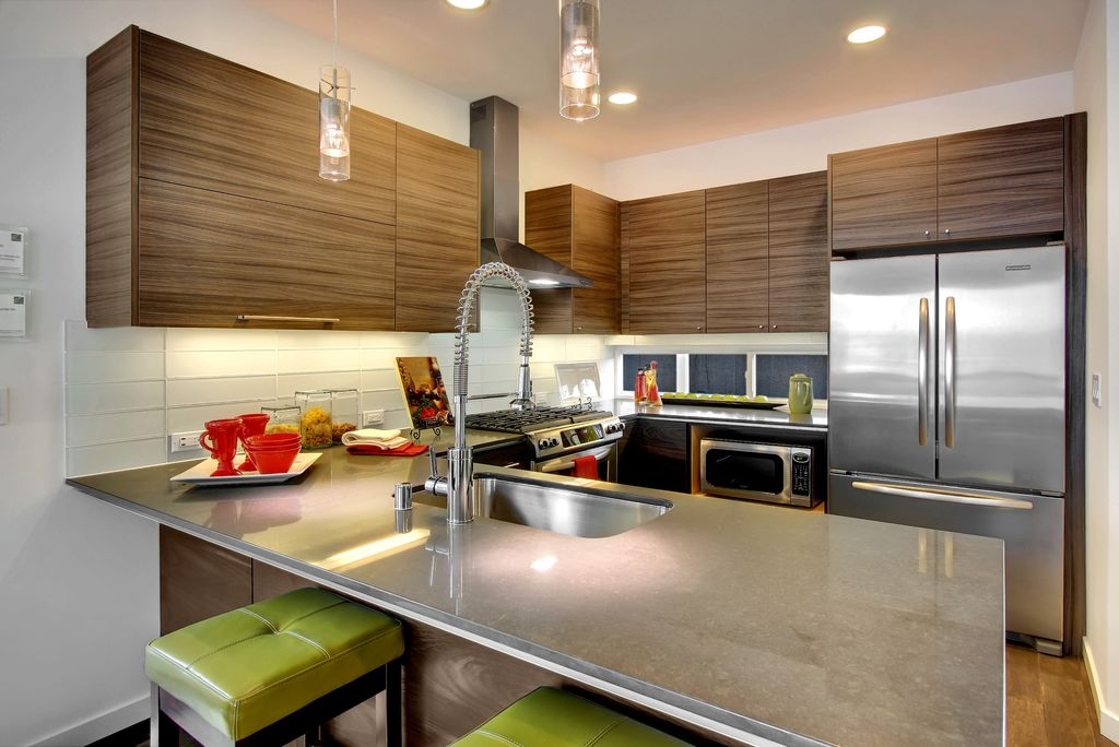 Modern kitchen by isola homes zillow digs zillow for Modern kitchen cabinets seattle