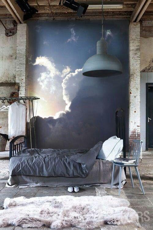 Blue Bedroom Mural Design Ideas Pictures Zillow Digs Zillow - Bedroom mural