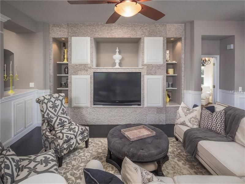 Living Room Ideas Mink living room with carpet & wainscoting in lake mary, fl | zillow