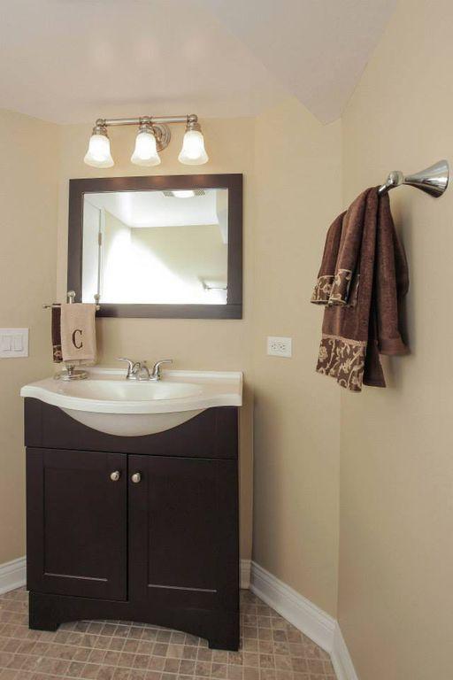 Corian Bathroom Vanity contemporary powder room with powder roomkatlia construction