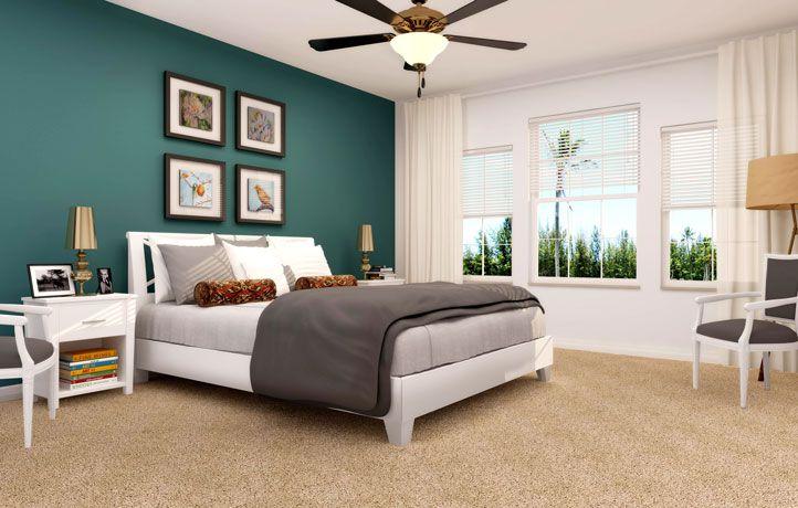 MidRange SherwinWilliams Hunt Club Guest Bedroom Zillow Digs - Modern guest bedroom ideas