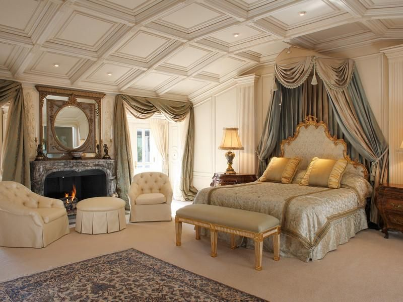 Traditional Master Bedroom with Carpet Cathedral ceiling – Cathedral Ceiling Bedroom