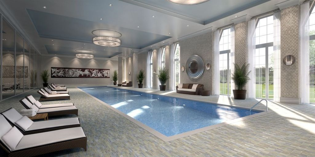 Contemporary Swimming Pool With Indoor Pool Amp Horizontal