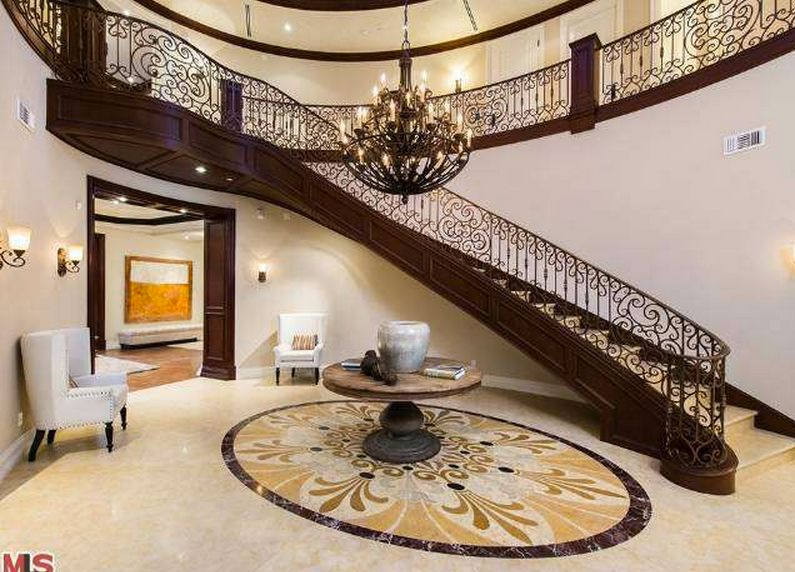 Traditional Staircase with Balcony Tile mosaic Zillow Digs
