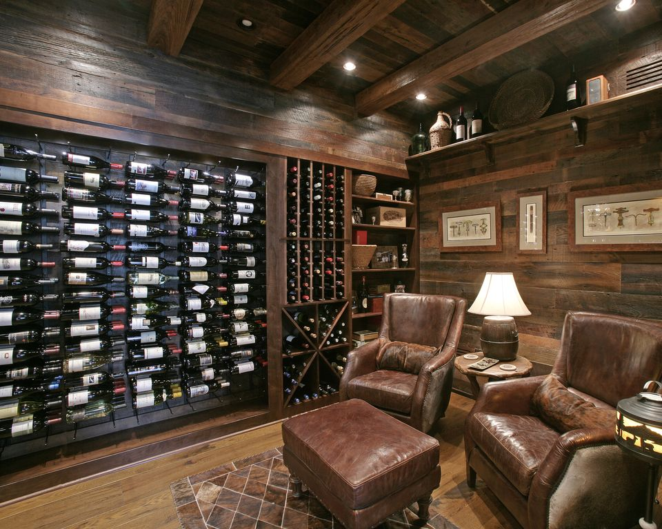 Rustic Wine Cellar By Joe Folsom Zillow Digs