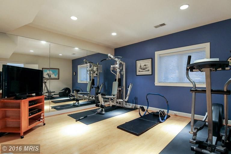 Traditional Home Gym in Reston, VA | Zillow Digs | Zillow