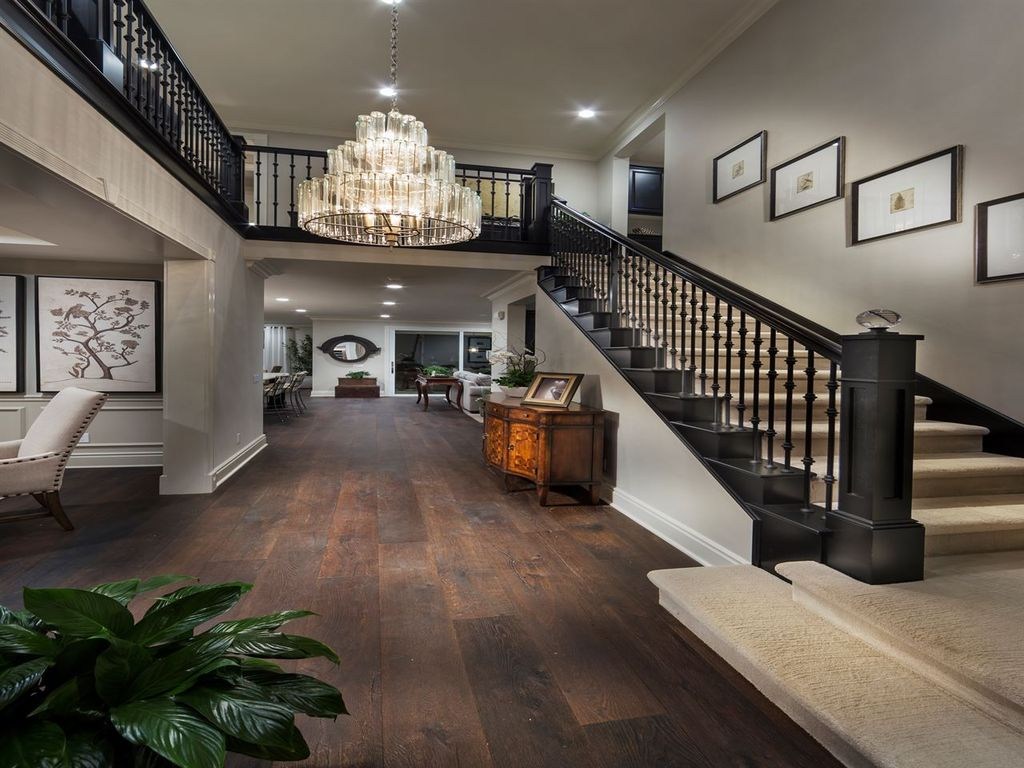 Traditional Staircase with High ceiling Balcony Zillow Digs