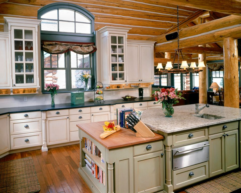 Country kitchen with undermount sink by benning design for Home design zillow