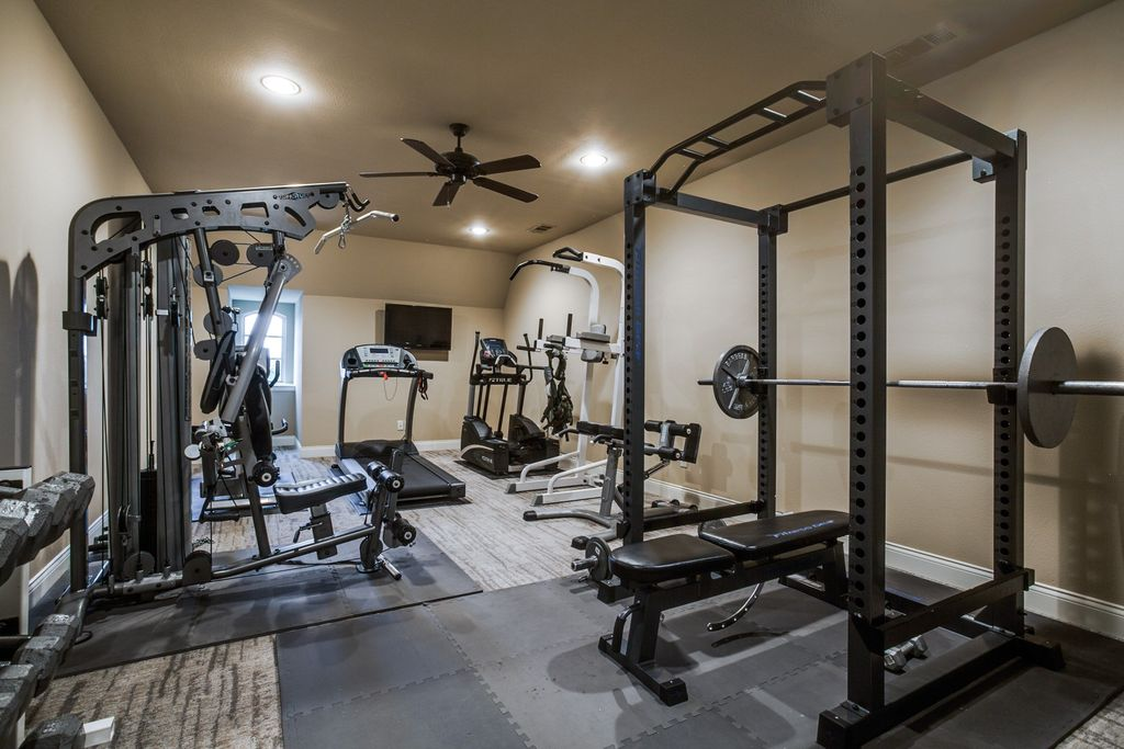 Contemporary Home Gym In Fairview Tx Zillow Digs Zillow