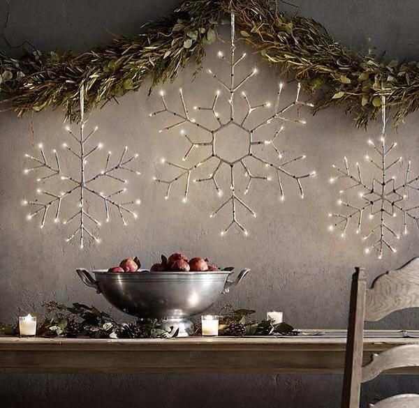 restoration hardware decor. Dining Room with Restoration Hardware Birch Flower Snowflake 16  High ceiling Christmas decor Zillow Digs