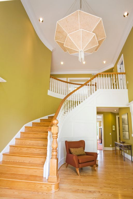 Staircase with Balcony by Home Stratosphere Zillow Digs Zillow