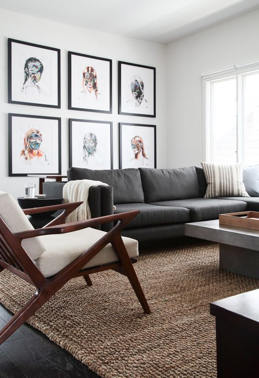 Modern Living Room with Hardwood floors by Orlando Soria | Zillow ...