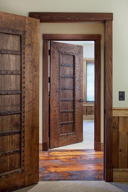 Rustic Hallway with specialty door High ceiling Hardwood floors & Rustic Hallway with Hardwood floors u0026 specialty door | Zillow Digs ... pezcame.com