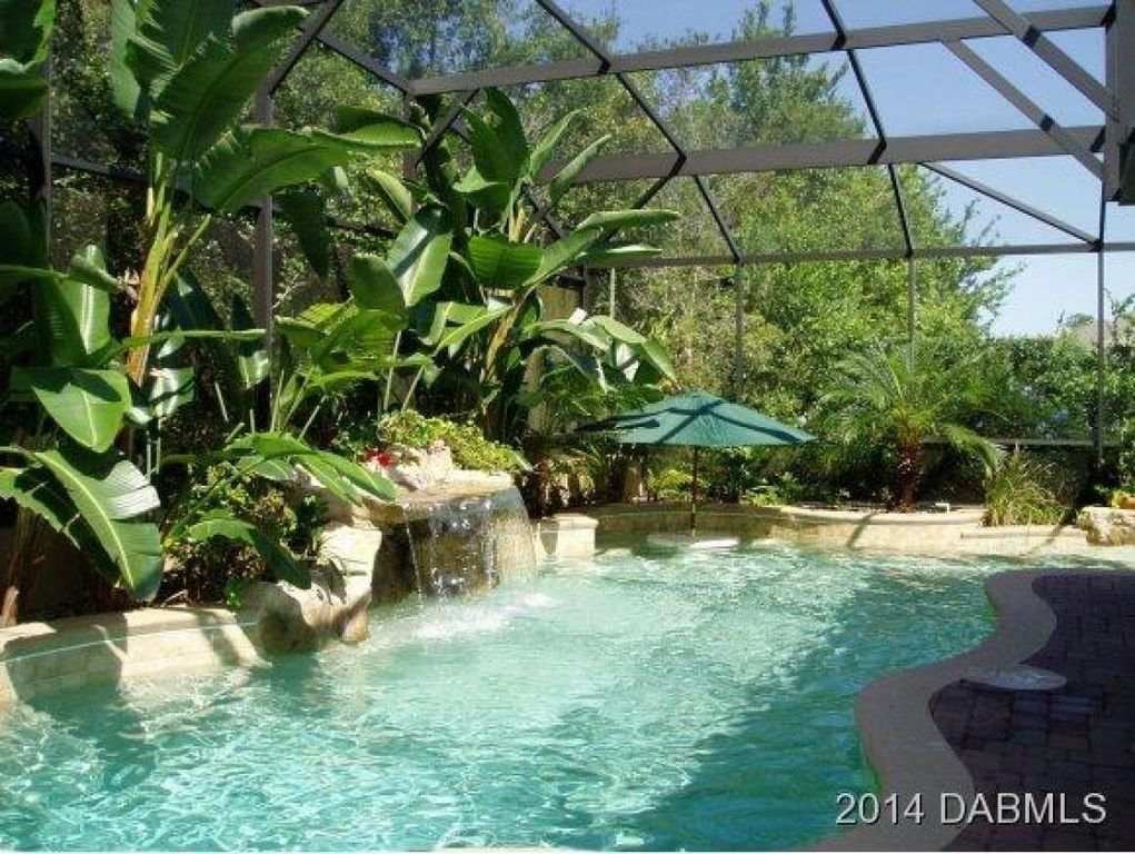 Tropical Swimming Pool With Skylight Amp Atrium In Debary