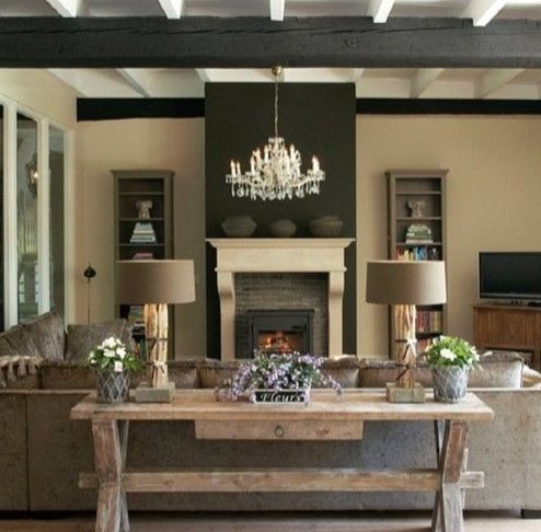 Space with Reclaimed wood & Exposed beam ceiling | Zillow Digs ...