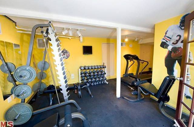 Modern Blue Home Gym Design Ideas & Pictures | Zillow Digs | Zillow