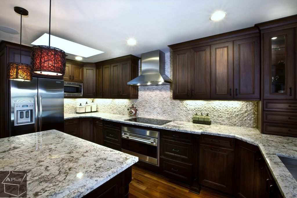 Traditional bathroom tile ideas - Traditional Kitchen With Undermount Sink Inset Cabinets Saybrook