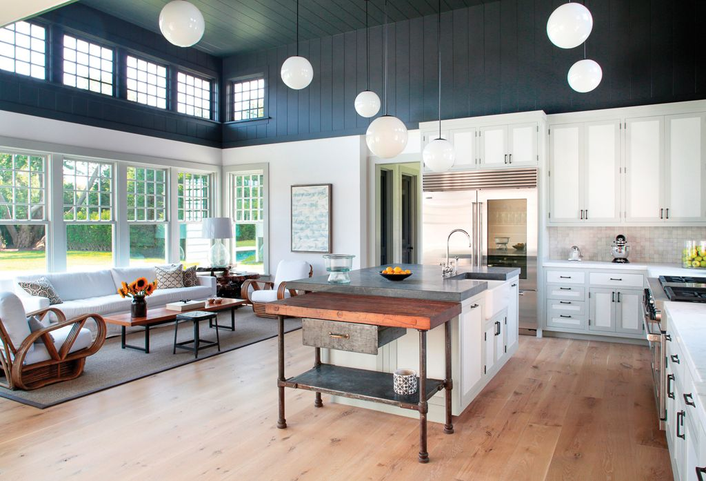 Cottage Kitchen with Slate counters by The Corcoran Group Zillow