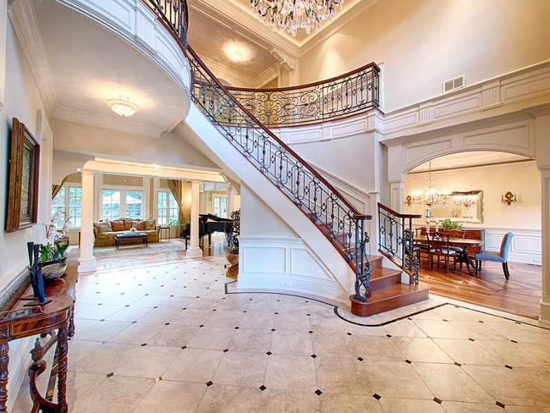 Traditional Staircase with Wainscoting Chair rail Zillow Digs