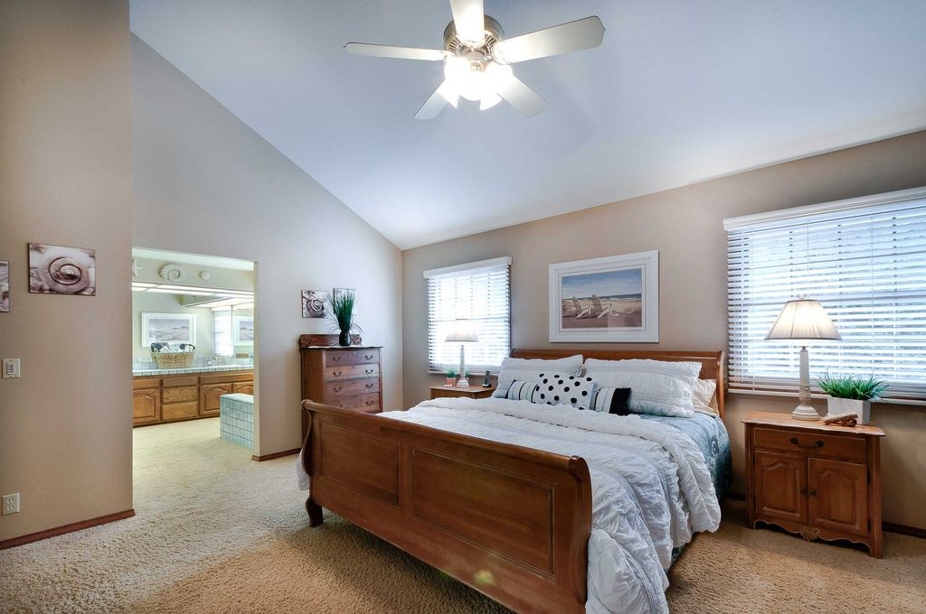 Traditional Master Bedroom With Ceiling Fan By Ray Fernandez Zillow Digs Zillow