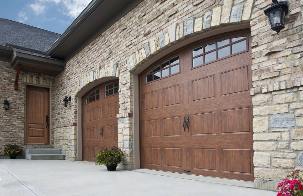 rustic garage doorsRustic Garage with Barn door by HollywoodCrawford Door Company