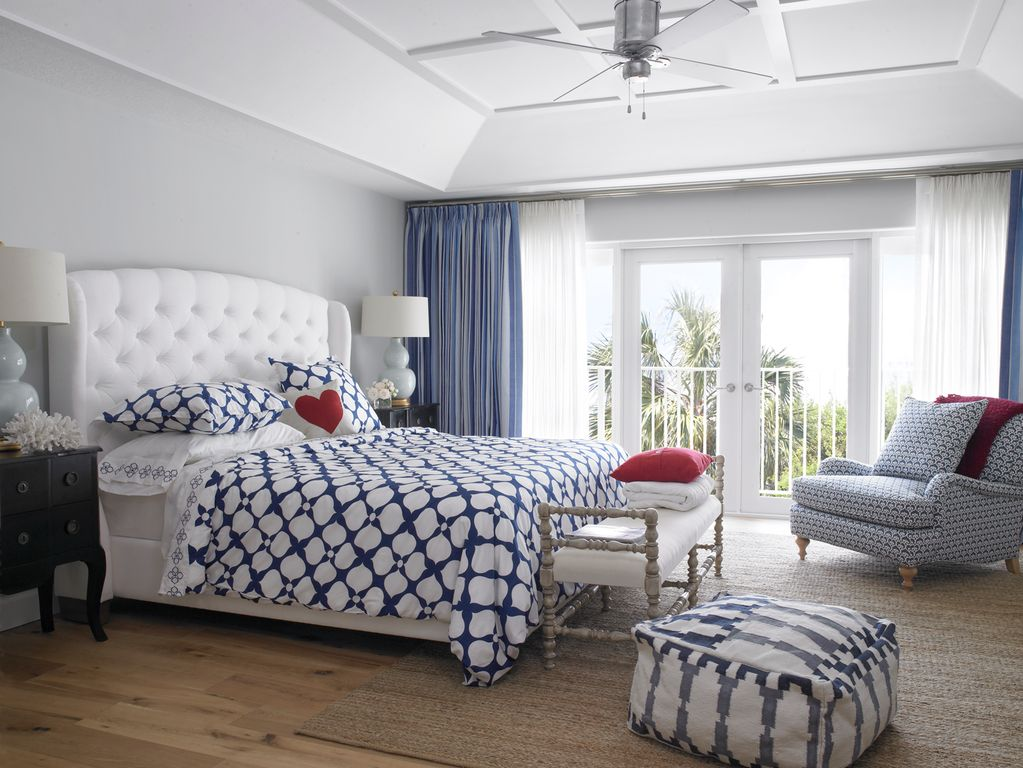 Transitional Master Bedroom with Cadiz Tribal Cotton Pouf Ottoman  Carpet   Wide Plank Flooring Farmhouse. Master Bedroom Ideas   Bedroom Design   Photos   ZIllow Digs   Zillow