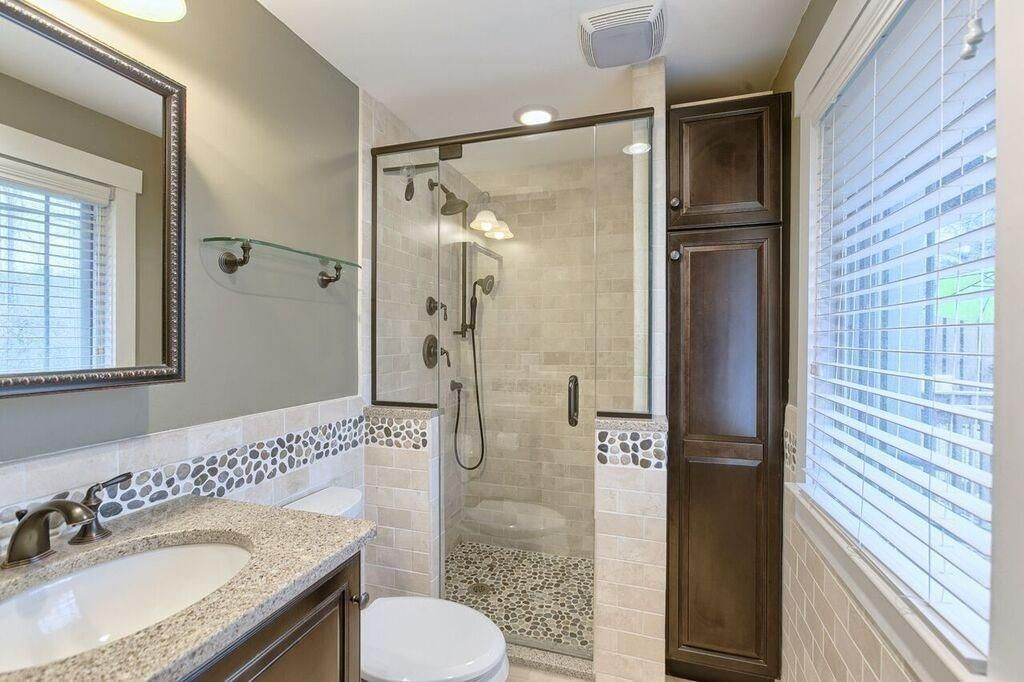 Zillow Contemporary Bathrooms contemporary 3/4 bathroom in northborough, ma | zillow digs | zillow