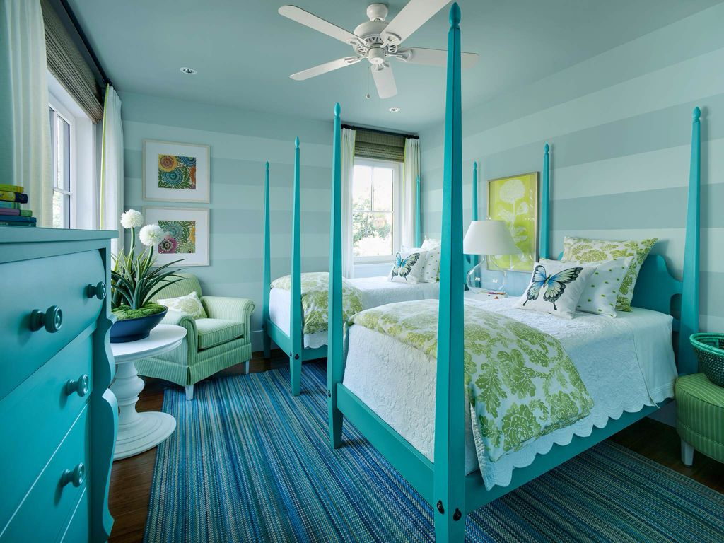 Traditional Kids Bedroom with Ceiling fan & Hardwood floors  Zillow Digs