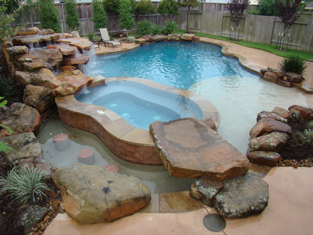 Natural Rock Pool Accent Design Ideas & Pictures | Zillow Digs ...