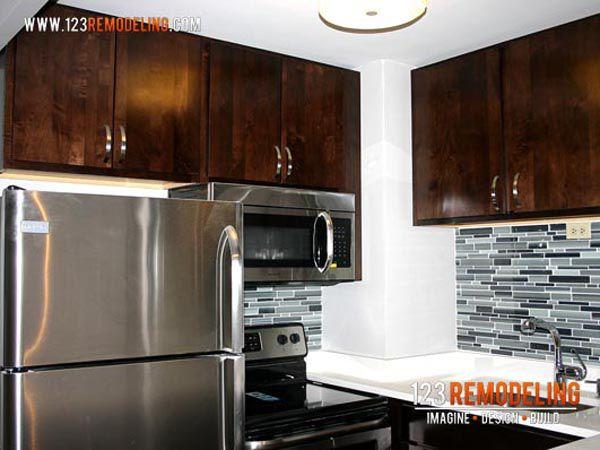 samsung over the range microwave. modern kitchen with high ceiling, undermount sink, samsung 30 in. w 1.6 cu over the range microwave