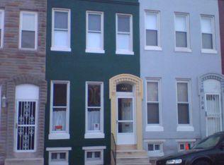707 W Lanvale St , Baltimore MD
