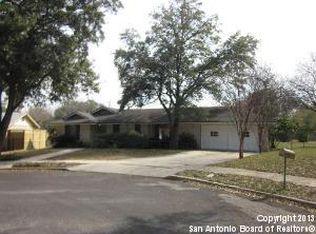 3126 Canaveral Dr , San Antonio TX