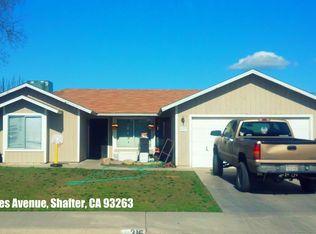 216 Frances Ave , Shafter CA