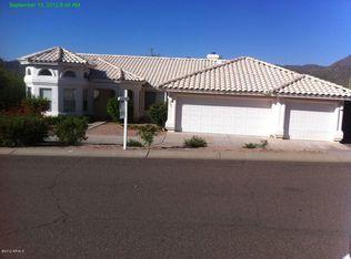 15806 N Eagles Nest Dr , Fountain Hills AZ