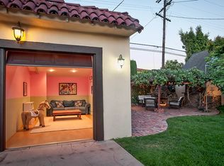 Modern Patio With Trellis Amp Outdoor Stone Fireplace In Los