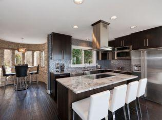 Contemporary Kitchen With Kitchen Island Amp Flush In