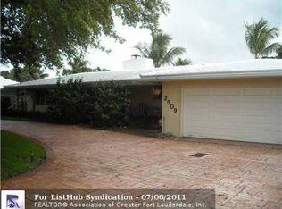 2509 Middle River Dr , Fort Lauderdale FL