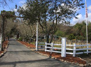 3395 Dry Creek Rd , Napa CA