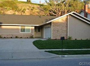 750 Driftwood Ave , Brea CA